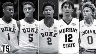 2019 NBA MOCK DRAFT (1st Round)