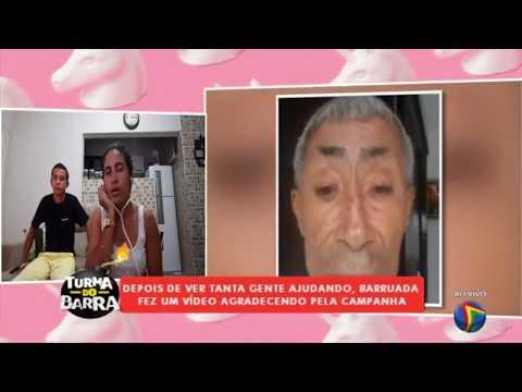 Entrevista: família de 'Barruada' fala como ele reagiu ao saber de todo apoio financeiro que recebeu
