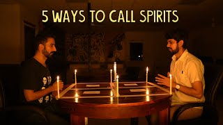 5 Ways To Call Spirits   Ok Tested