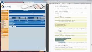 NetFAX webadmin first configuration