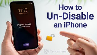 How to Undisable an iPhone without iTunes 2021