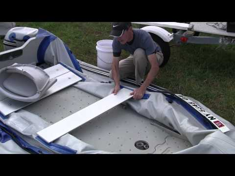 How to assemble and use the Sea Eagle Sport Runabout Classic inflatable boats