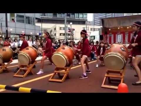 御田小学校和太鼓