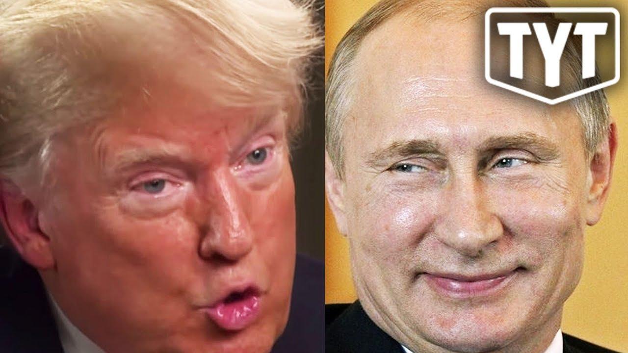 Trump Gets Defensive About Putin thumbnail