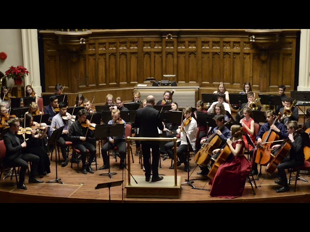 Slavonic Dances – Youth Symphony Wintertide Concert 2018