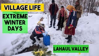 The Extreme Winter Days In Lahaul Valley (A Short Documentary Film)