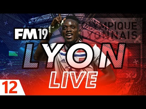 Football Manager 2019 | Lyon Live #12: Money To Burn #FM19