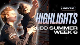 LEC : highlight de la semaine 6 des Fnatic