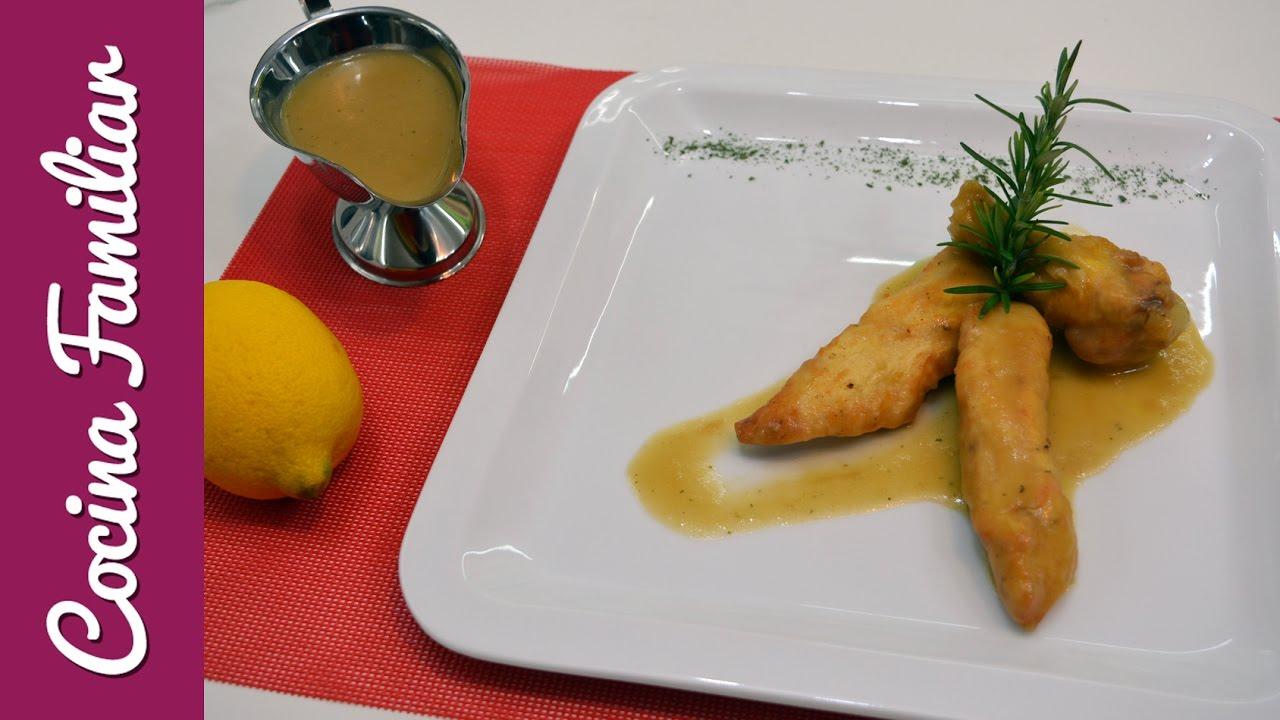 Pollo con salsa de limón | Javier Romero