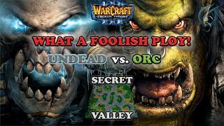 grubby  warcraft 3 the frozen throne  ud v orc  what a foolish ploy!  secret valley