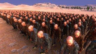 Trận Chiến 5000 Người Đánh Nhau Với 10000 Con Zombie - ULTIMATE EPIC BATTLE SIMULATOR - TẬP 1
