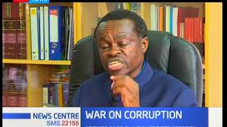 Professor PLO Lumumba voices concerns over the fight against corruption