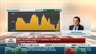 21.02.2019 - Bloomberg HT - Günden Kalanlar - GCM Yatırım Ekonomisti Enver ERKAN
