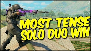I Love Solo Duos! Oldie But A Goldie! Cod Blackout Solo Duo Win!