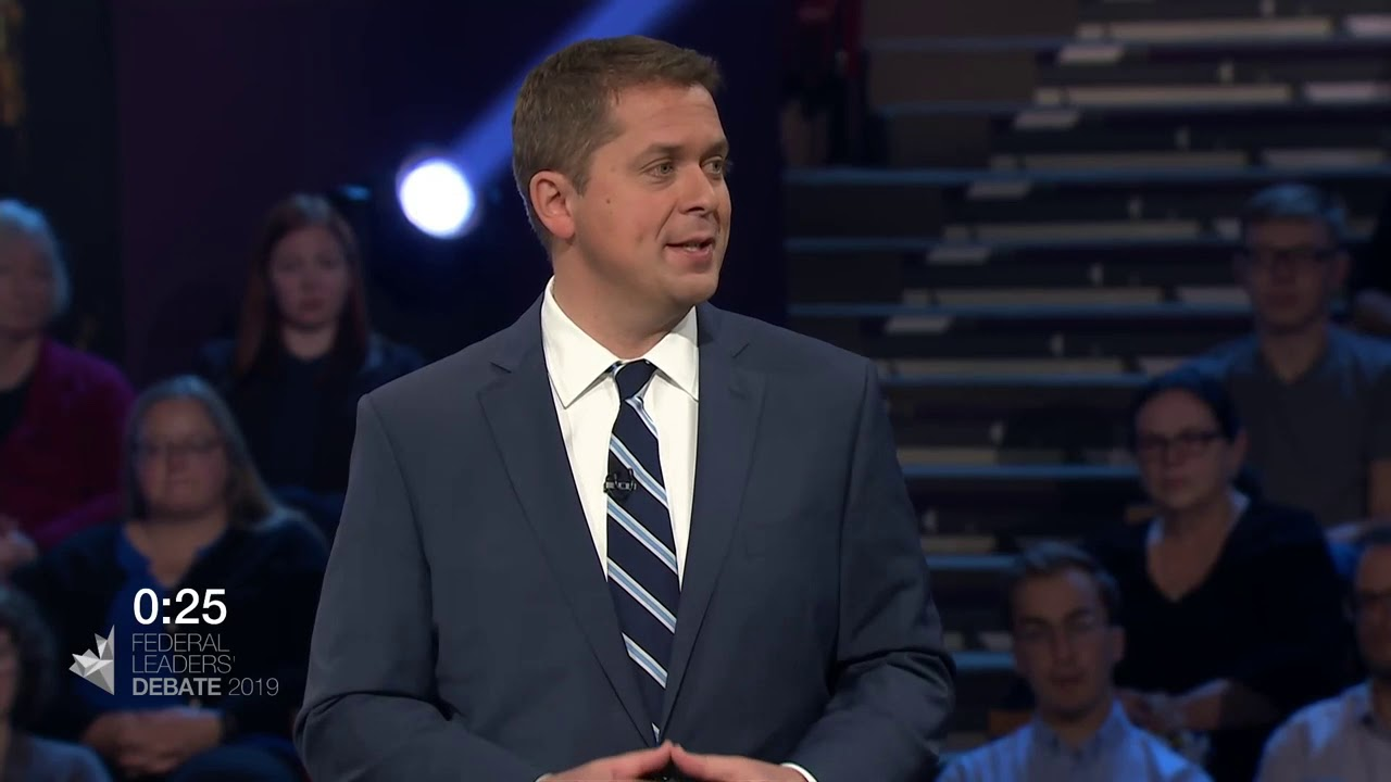 Andrew Scheer debates Yves-François Blanchet about First Nations consent for new pipelines