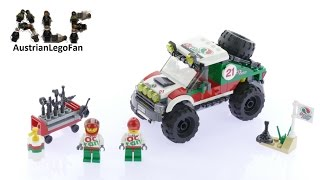 Lego City 60115 4 x 4 Off Roader - Lego Speed Build Review