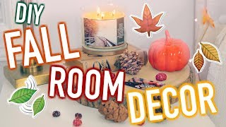 DIY Fall Room Decor! Cute & Cheap Decor Ideas!