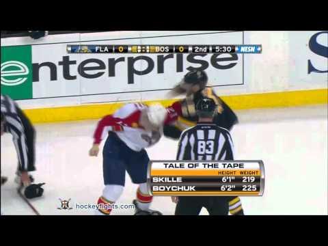 Jack Skille vs Johnny Boychuk