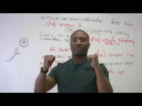 Lekce angličtiny – jak mluvit o vztazích