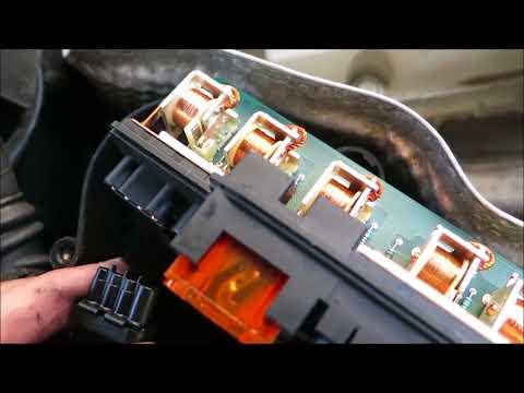 Kompressor SLK 230 R170 Reparatur Relais