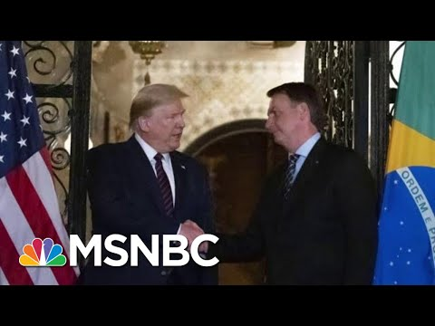 President Donald Trump Issues Travel Ban For Brazil As Virus Cases Spike | MTP Daily | MSNBC