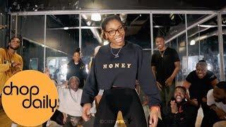 Skiibii Ft. Reekado Banks   Sensima (Dance Class Video) | Chisom Choreography | Chop Daily