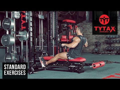 TYTAX® T1-X | Cable Wide-Grip Seated Row