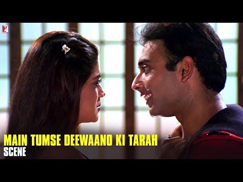 Scene: Mohabbatein | Main Tumse Deewano Ki Tarah | Uday Chopra | Shamita Shetty