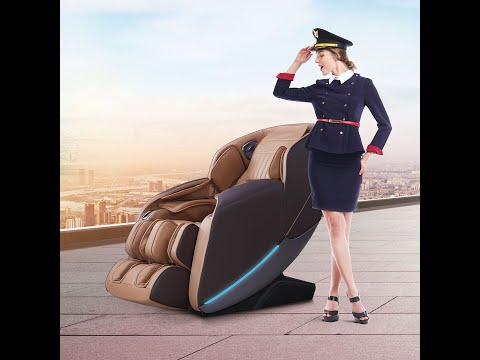 Zero Gravity 2D Robotic Massage Chair