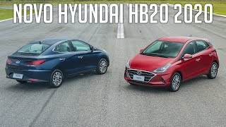 Novo Hyundai HB20 2020 até freia sozinho! - Teste