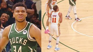 Trae Young DISRESPECTS GIANNIS & ENTIRE BUCKS With Shimmy While Taking Over Game 1! Bucks vs Hawks