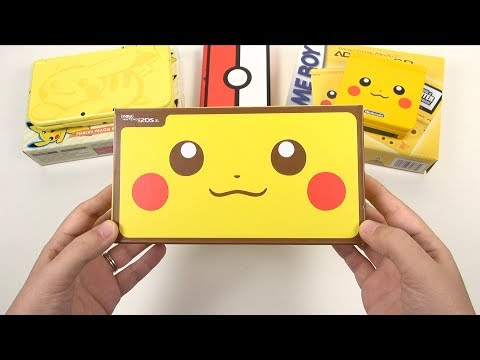 Pikachu Edition: NEW 2DS XL Unboxing & Comparisons