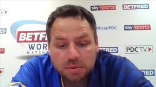 "Adrian Lewis: ""I was thinking to myself, this could be my last World Matchplay"""