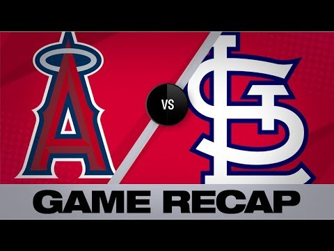 Angels win in Pujols' St. Louis farewell | Angels-Cardinals Game Highlight 6/23/19