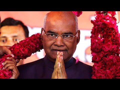 Ινδία: Νέος Πρόεδρος ο Ραμ Ναθ Κοβίντ