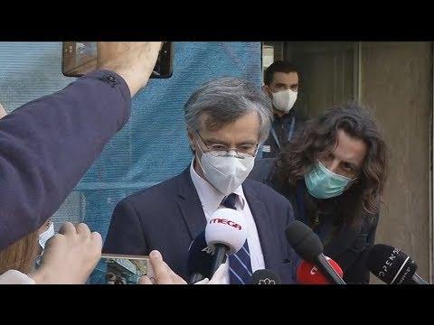Δηλώσεις του εκπρ. του υπουργείου Υγείας Σωτήρη Τσιόδρα