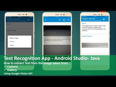 Text Recognition App - Android Studio - Java - Thủ thuật máy