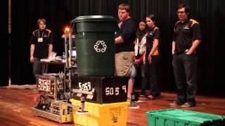 preview picture of video 'Globe TigeRobotics Robot Demo in Miami'