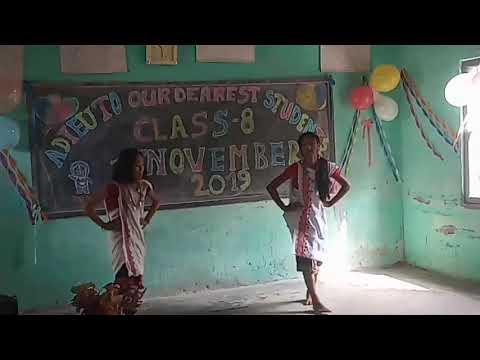 Chehebongjet || A Karbi Dance by Class 8 Students || Rongnihang English M.E School