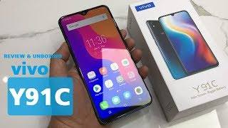 vivo y91c review and unboxing