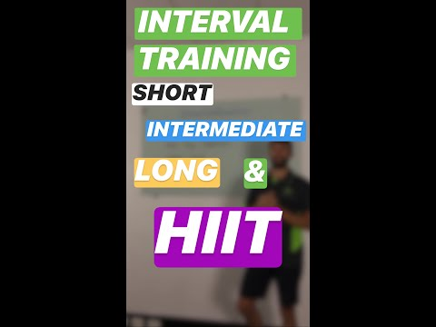 VCE PE - Interval Training - YouTube