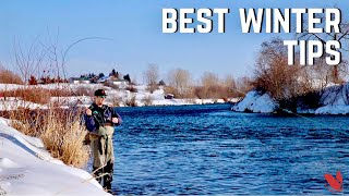 Winter Fly Fishing For Trout: Proven Winter Tips