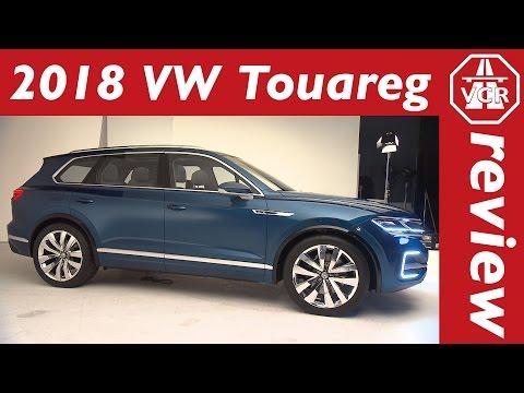 2018 Volkswagen VW Touareg 3 / T-Prime Concept GTE –  Preview, In-Depth Look