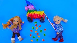 Elsa And Anna Toddlers Birthday Party And Pinata