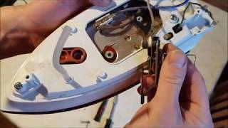 Mein Bügeleisen wird nicht mehr heiß? Bügeleisen reparieren. Repair the iron. Upcycling.