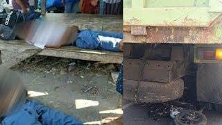 Pelajar SMA Tewas Ditempat karena Gagal Salip Dump Truk Tronton