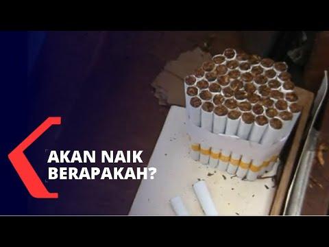 cukai rokok tahun naik
