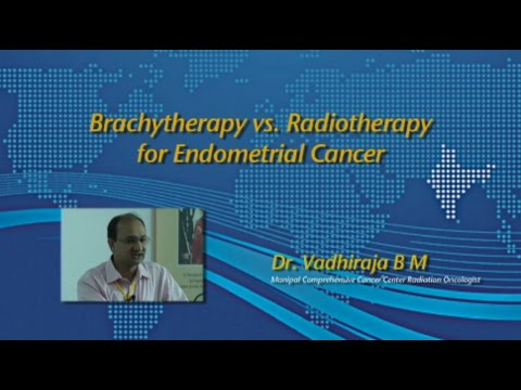 Brachytherapy vs Radiotherapy for Endometrial Cancer