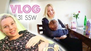 CTG - Herzschlag hören | Stillen & Geschwisterliebe | 31 SSW | Isabeau