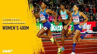 Women's 400m Final | IAAF World Championships London 2017